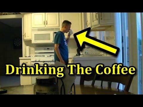 Funniest Pranks : Funny Coffee Prank