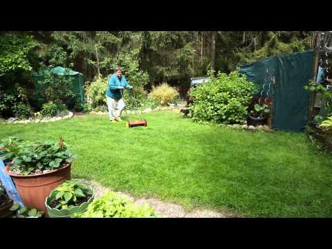 WOLF-Garten Handspindelmäher TT 350 S geht auch am Sonntag :)