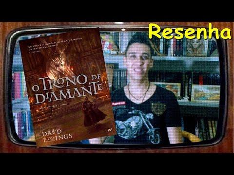 [RESENHA] O Trono de Diamante - David Eddings - Livro de Fantasia Medieval