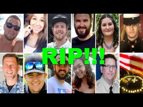 Live Updates : RIP!!! Borderline Bar Victims of Thousand Oaks shooting were full of hope and heroism