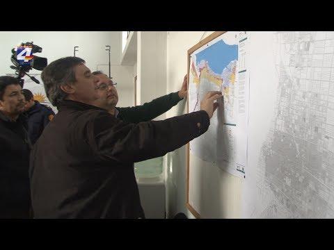 Director de la OPP y autoridades del Sinae se reunieron con el Cecoed