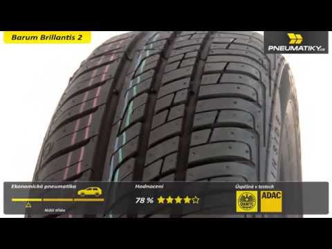 Youtube Barum Brillantis 2 185/60 R14 82 T Letní