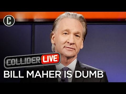 Bill Maher Says Dumb Things About Stan Lee - Collider Live #38
