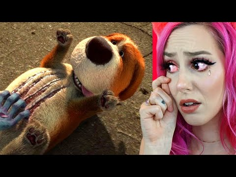 Reacting to the SADDEST Animations On The Internet - TRY NOT TO CRY CHALLENGE *IMPOSSIBLE*