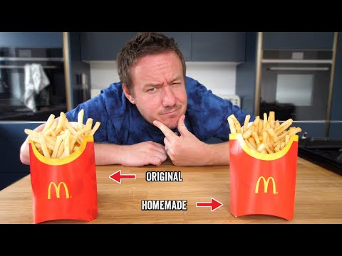 Homemade McDonald's Fries Recipe