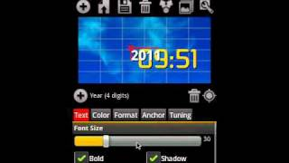 Make Your Clock Widget HD Pro YouTube video