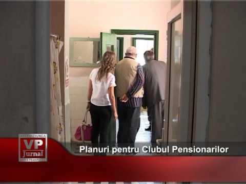 Planuri pentru Clubul Pensionarilor