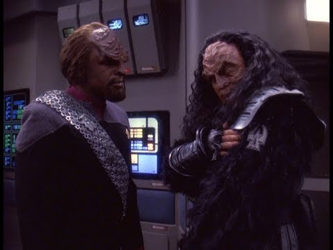 Worf I need you to be my 1st Officer.