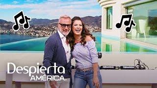 El reggaetón de Ana Patricia puso a Gianluca Vacchi a sus pies
