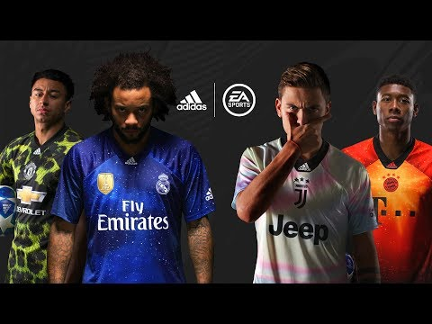 FIFA 19 | EA SPORTS X Adidas Limited Edition Jerseys Reveal