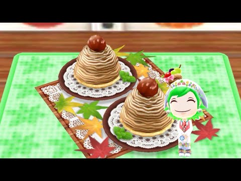 Cooking Chestnut Cake - Android Gameplay - Cooking Mama Let's Cook #83 - No Commentary