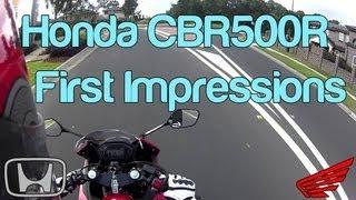 10. 2013 Honda CBR500R - First Impressions