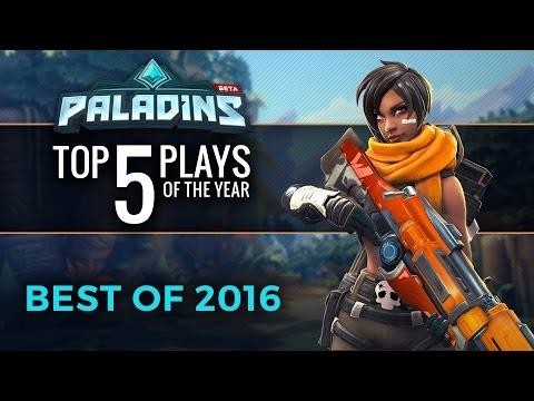 Paladins - Top 5 Plays of 2016