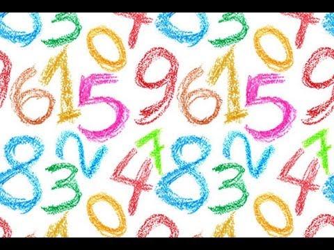 Spanische Zahlen für Kinder - von 1 bis 10
