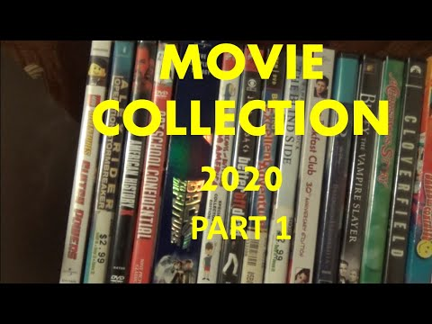My Complete DVD/Blu-Ray Collection 2020 Part 1