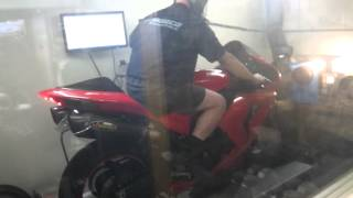 3. Red 2007 Kawasaki Zx10r Dyno, 155.5hp