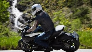 9. Ducati Diavel Chromo - Test in den Alpen