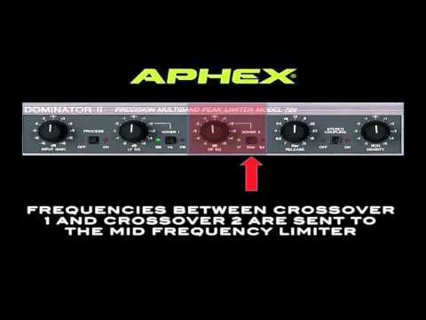 Aphex 722 Dominator Peak Limiter Training Video 