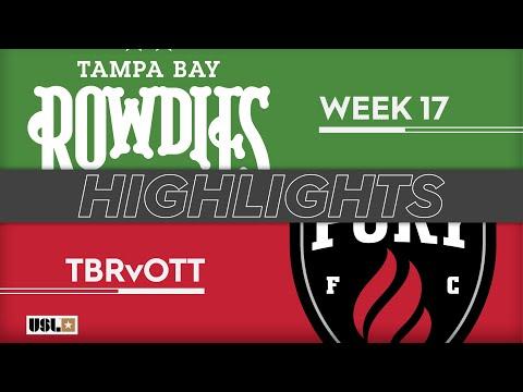 Tampa Bay - Оттава Фьюри 2:1. Видеообзор матча 30.06.2019. Видео голов и опасных моментов игры