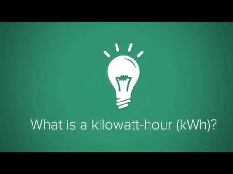 What is a kilowatt-hour?