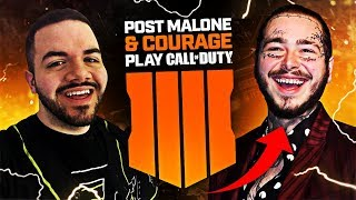 POST MALONE AND I PLAY BLACK OPS 4! HILARIOUS WINS! (CALL OF DUTY: BLACK OPS 4)