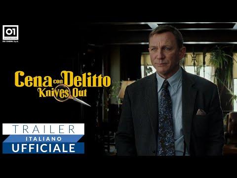 Preview Trailer Cena con Delitto, trailer ufficiale italiano