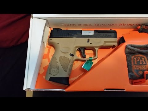 Taurus PT111 Millennium G2 Flat Dark Earth Unboxing Brand New Concealed Carry Pistol