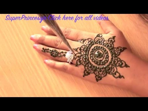 ... Arabic Mehndi Design-How To Make Henna Mehndi Art Design For Hand
