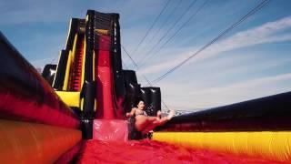 SlingShot - Giant inflatable slide by i2k