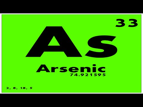 STUDY GUIDE: 33 Arsenic | Periodic Table of Elements