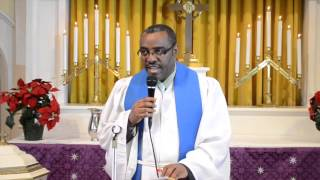 Jan 12 2014 Mekane Yesus Church TV Program   Special Program On Ethiopian Christmas Sermon By Rev Ay