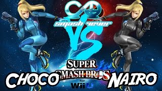 HYPE match between 2 Premiere Zero Suit players, Nairo (USA) vs Choco (JPN) at Smash 4-Ever10