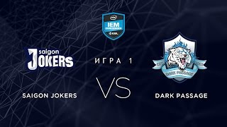 Jokers vs DP, game 1