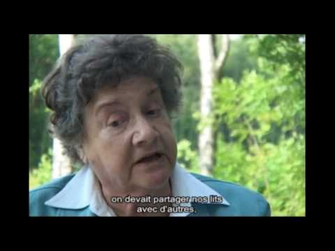 Betty Meir parle des difficultés de la vie quotidienne dans le camp de Bergen-Belsen