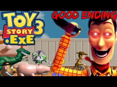 TOY STORY 3.EXE - THIS IS YOUR END, WOODY.EXE!   Good Ending & Secret Ending [Full Version]