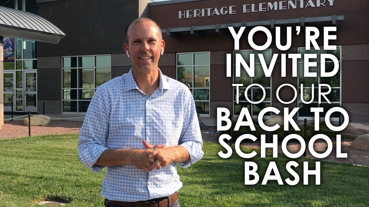 You're Invited to Our Back to School Bash!