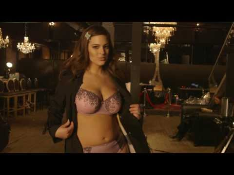 Behind the Scenes with Ashley Graham Lingerie