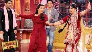 Farhan Akhtar & Vidya ATTEND Bua's WEDDING in Comedy Nights with Kapil 15th February 2014 EPISODE