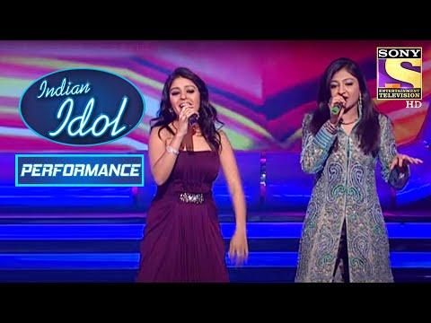 Bhoomi और Sunidhi ने दिया धमाकेदार Duet Performance   Indian Idol Season 5