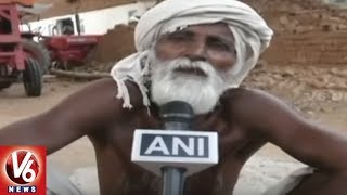 Special Story On Sitaram Rajput, MP Man Digging Well Single Handedly To Solve Water Crisis