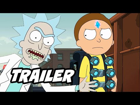 Rick and Morty Season 4 Trailer - New Scenes and Easter Eggs Breakdown