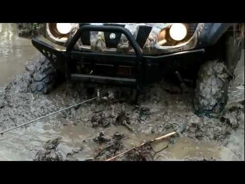 Yamaha Rhino mud bogging Bonaire, ga
