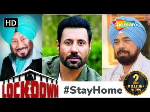 Lockdown 2020 #StayHome & StayHappy with Jaswinder Bhalla, Binnu Dhillon, B N - Punjabi Comedy Movie