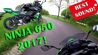10. Ninja 650 (2017) - Perfect Sound Review!