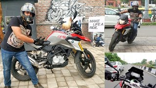2. Test Ride the New BMW BIKE G-310 GS | My NEW Bike ?