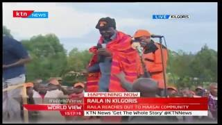 Here is Raila Odinga's grand reception in Kilgoris