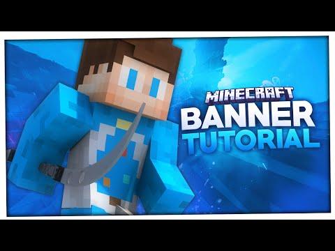Minecraft Banner erstellen   +leicht gemacht   BaumBlau [60FPS]