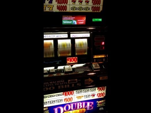 Big $100.00 Slot Machine Win