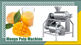 DJ Type Double-channel beater for mango fresh juice making machine youtube video