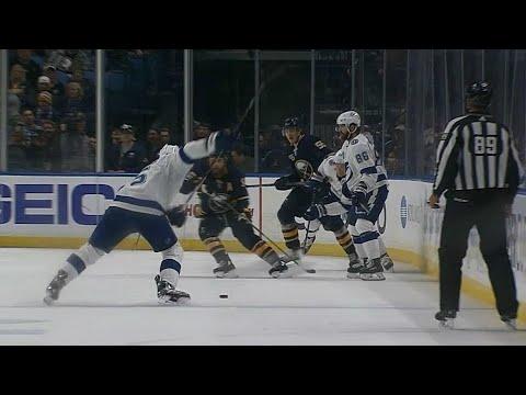 Video: Dan Girardi slapper flies past Robin Lehner for rare goal